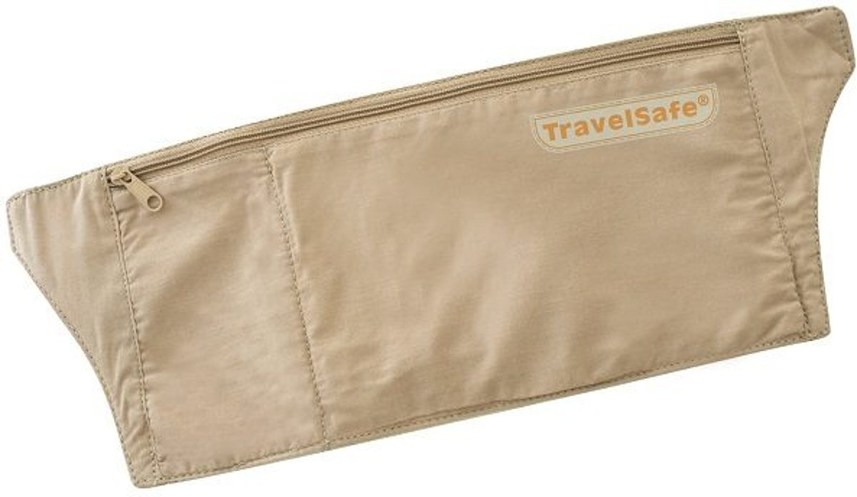 Travelsafe Moneybelt - Moneybelt Basic - Beige kopen