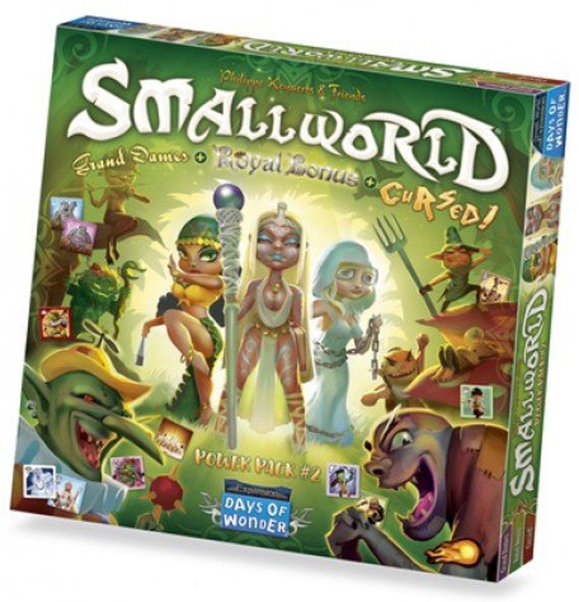 Small World Race Collection: Cursed, Grand Dames & Royal (Engelstalig)
