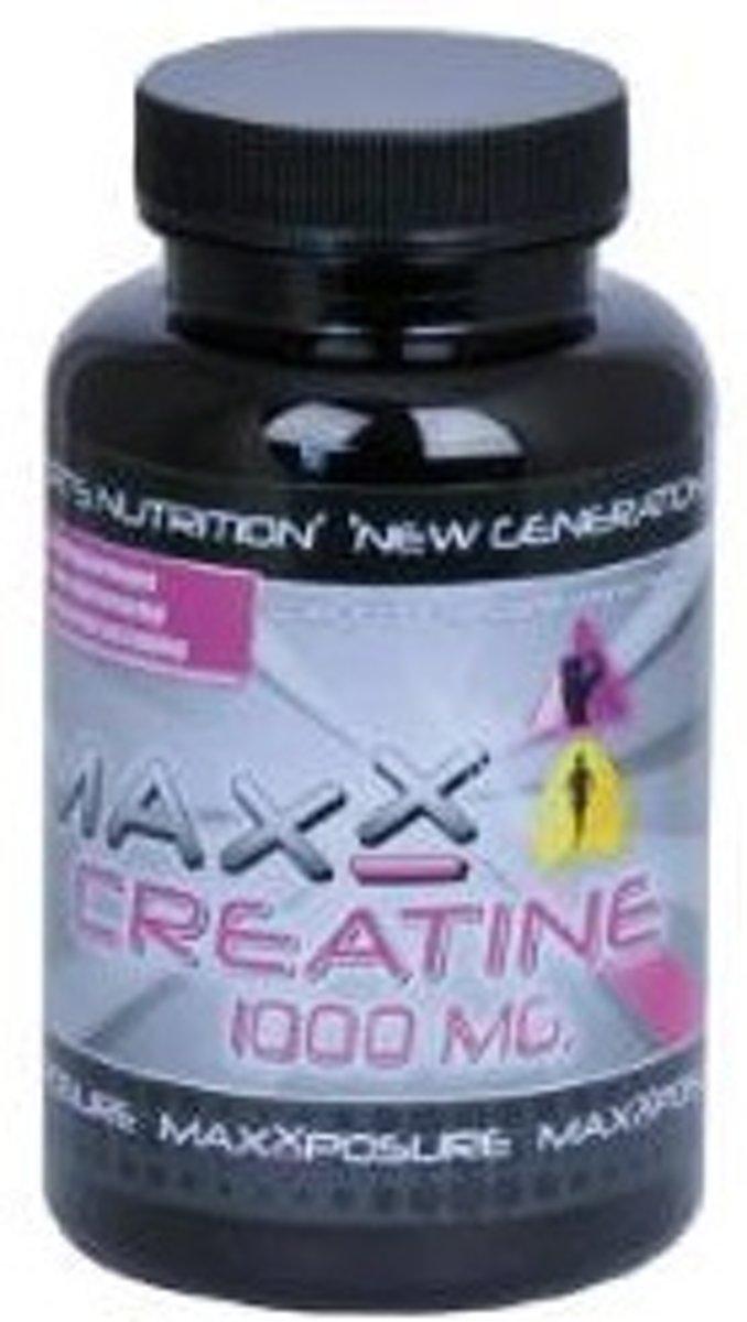 Maxxposure Creatine 1000 Mg - 100 capsules - Voedingssupplement kopen