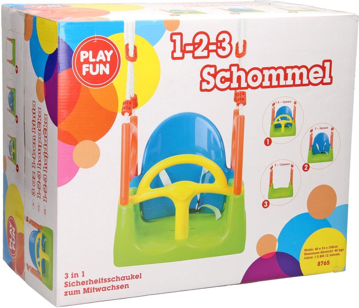 Playfun Schommelzitje 3-in-1 Multicolor 48 X 30 X 160 Cm kopen