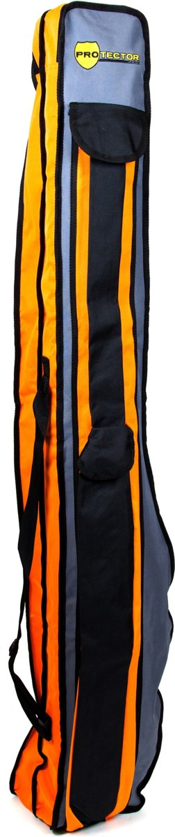 X2 Protector Standaard Foudraal - 155 x 18 x 18 cm - Oranje / Grijs