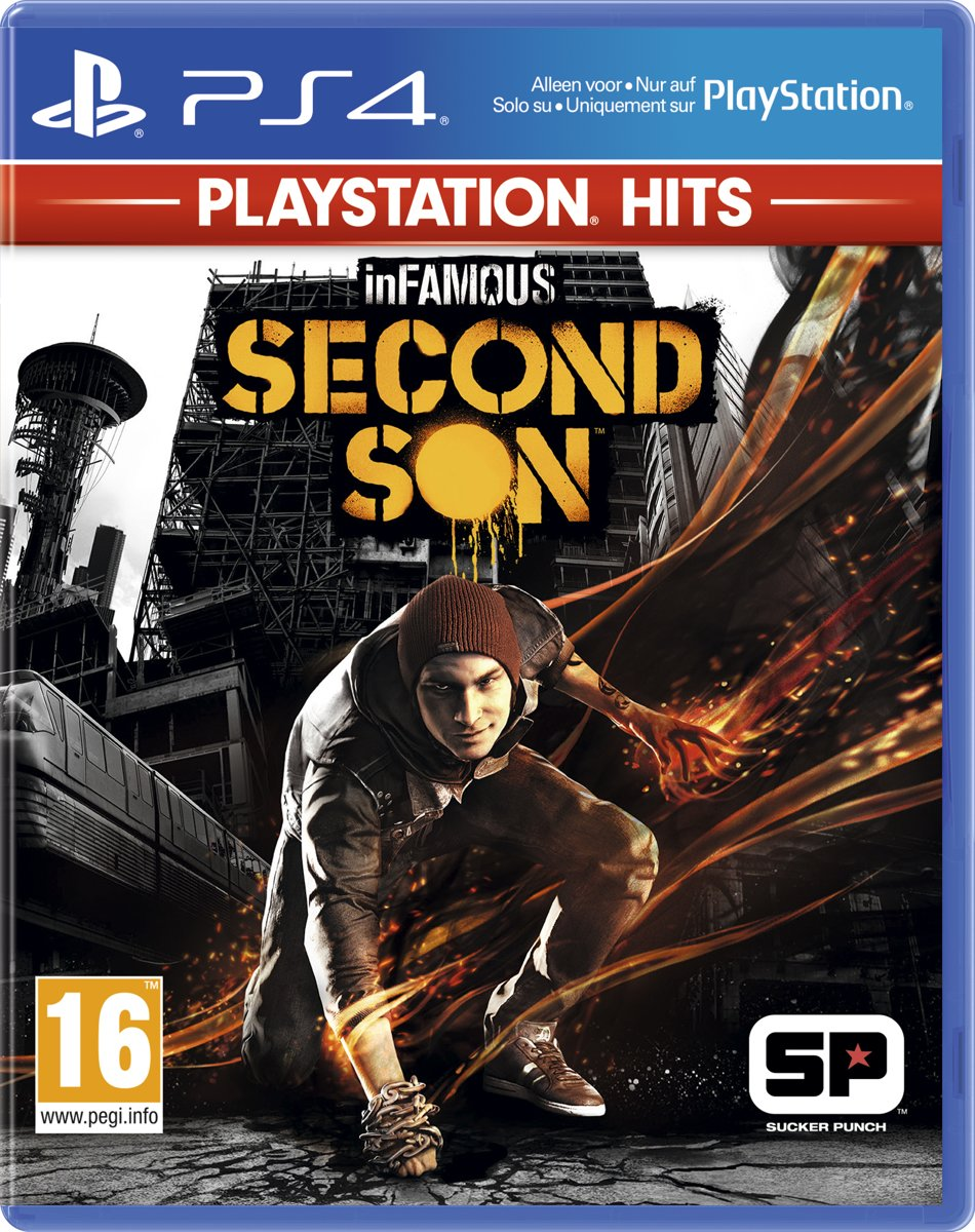 InFamous Second Son - PlayStation Hits PlayStation 4