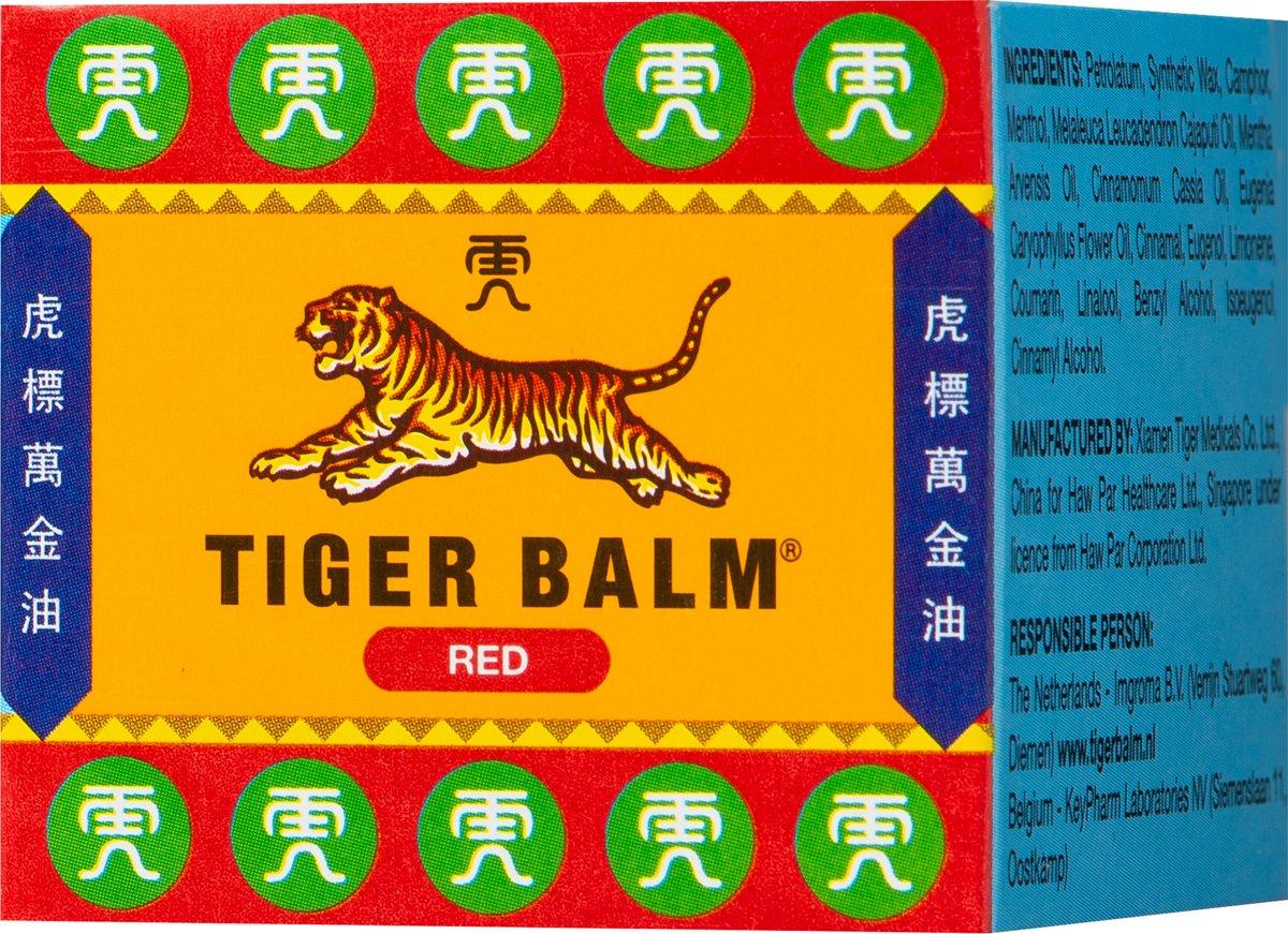 Tiger Balm Rood 19 Gram Balsem Oil
