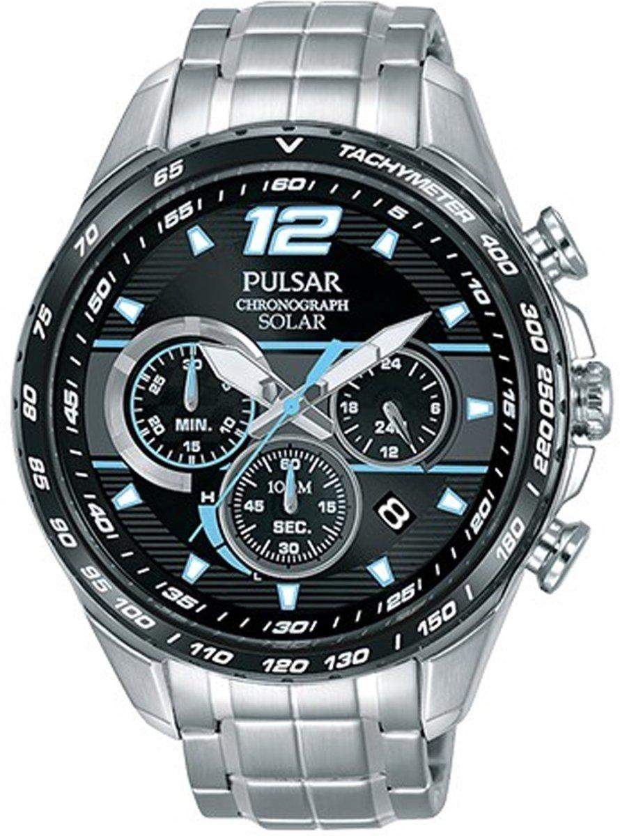 cf28c59c65bc92 Pulsar PZ5031X1 horloge heren - zilver - edelstaal