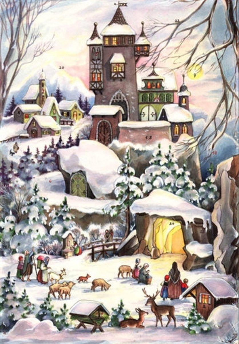 Adventskalender 77  Kerst in het Kasteel. kopen