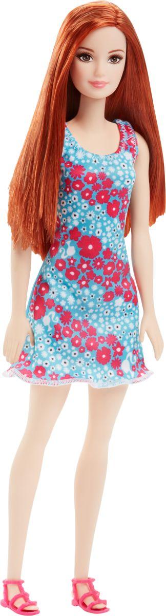 Barbie basis pop met rood haar