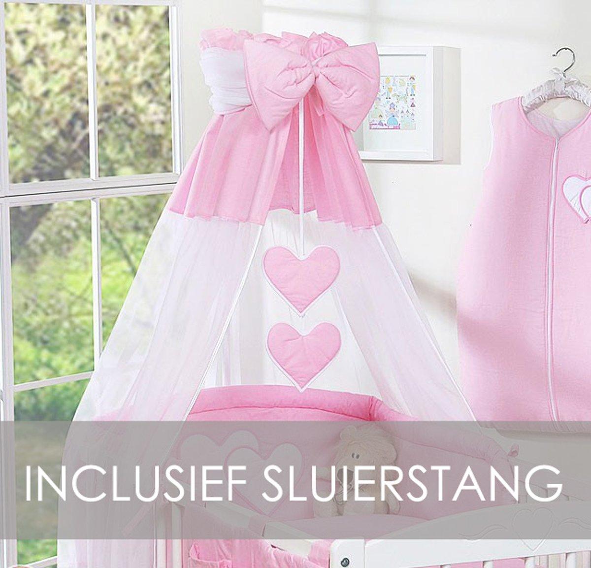 My Sweet Baby Hemeltje Strik Roze (incl Sluierstang)