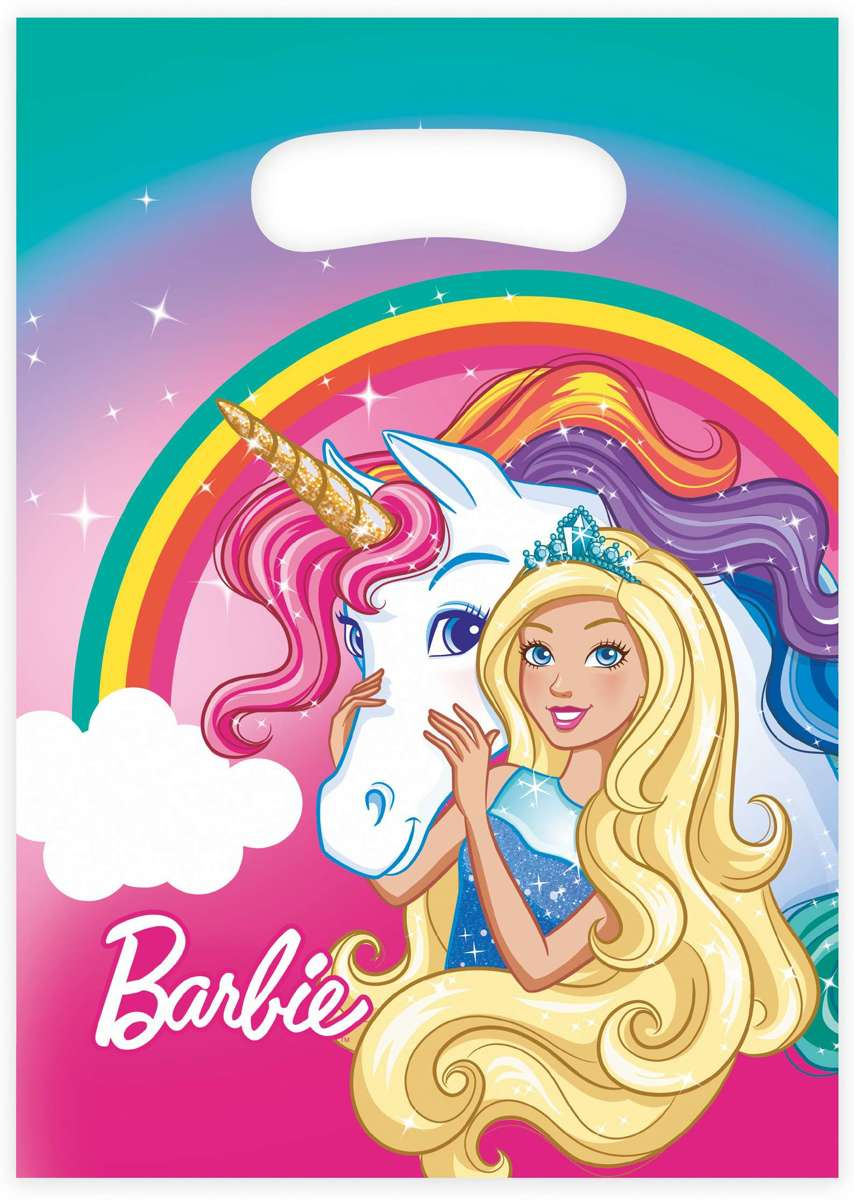 8 Lootbags Barbie - Dreamtopia