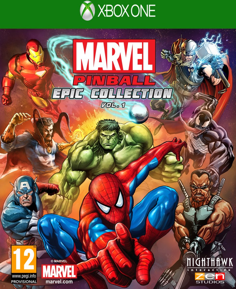 Marvel Pinball Xbox One