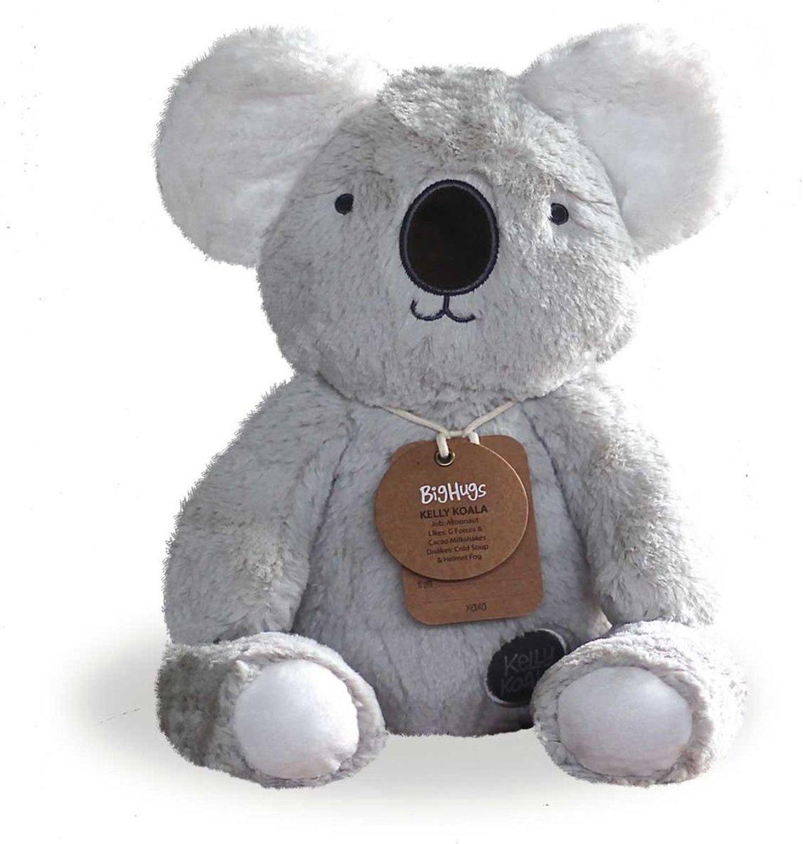 O.B. Designs knuffel Kelly Koala lichtgrijs