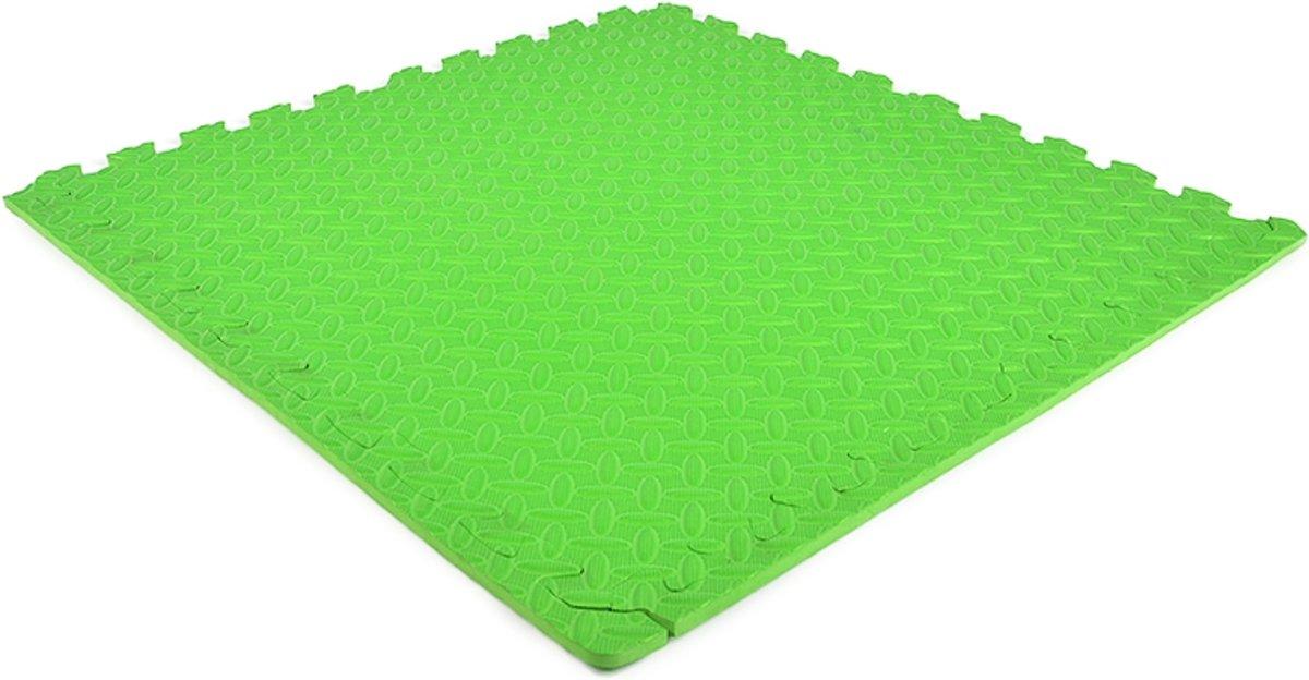 EVA FOAM tegels groen 62x62x1,2cm (set van 20 tegels + randen) kopen