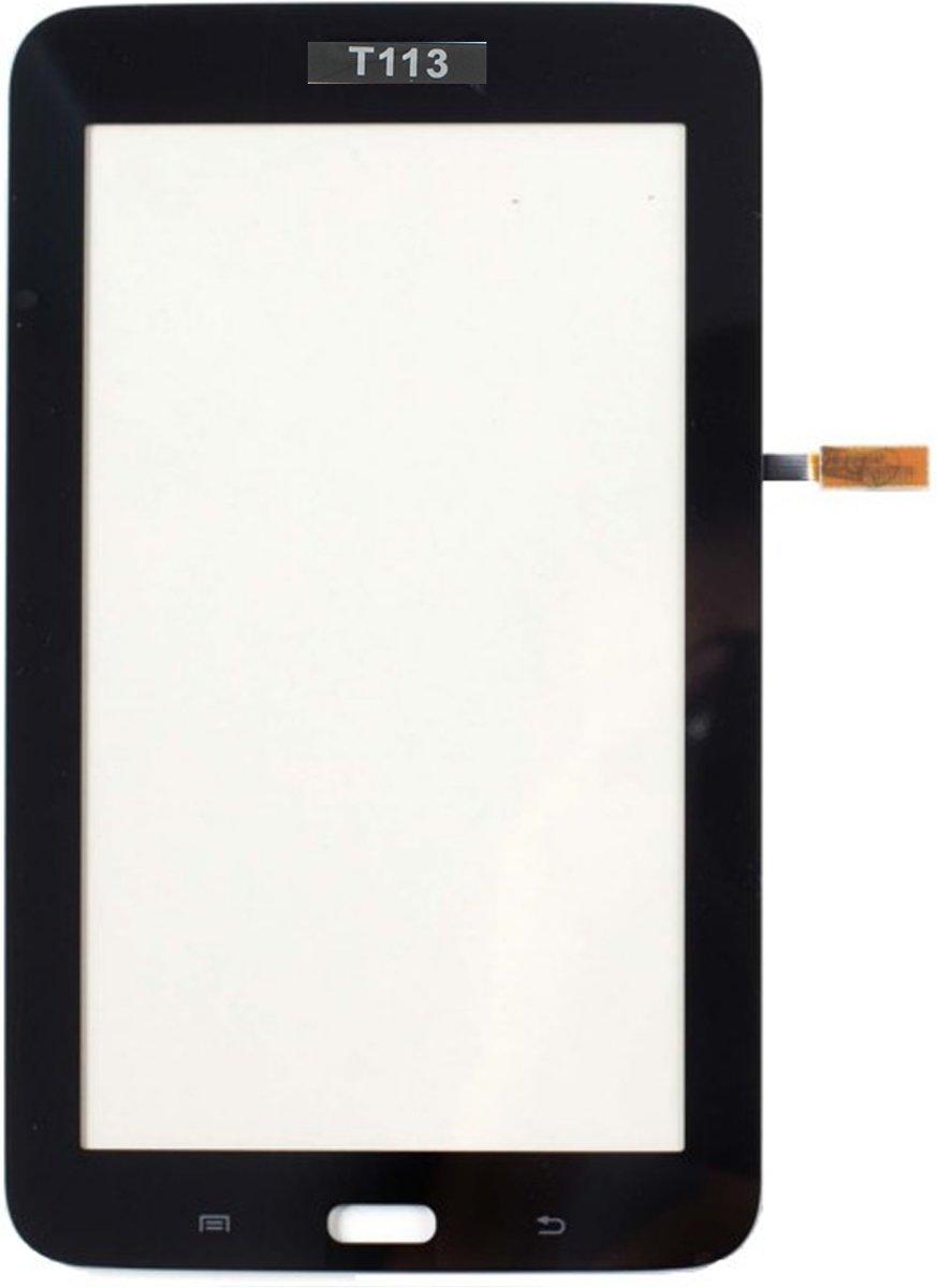 Touchscreen geschikt voor de Samsung Galaxy Tab 3 Lite SM-T113 - Zwart kopen