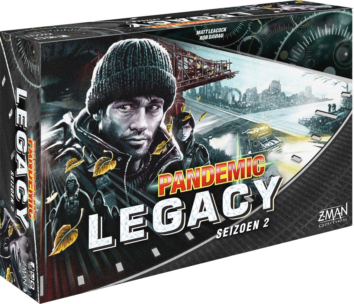 Pandemic Legacy Seizoen 2 Black - Bordspel