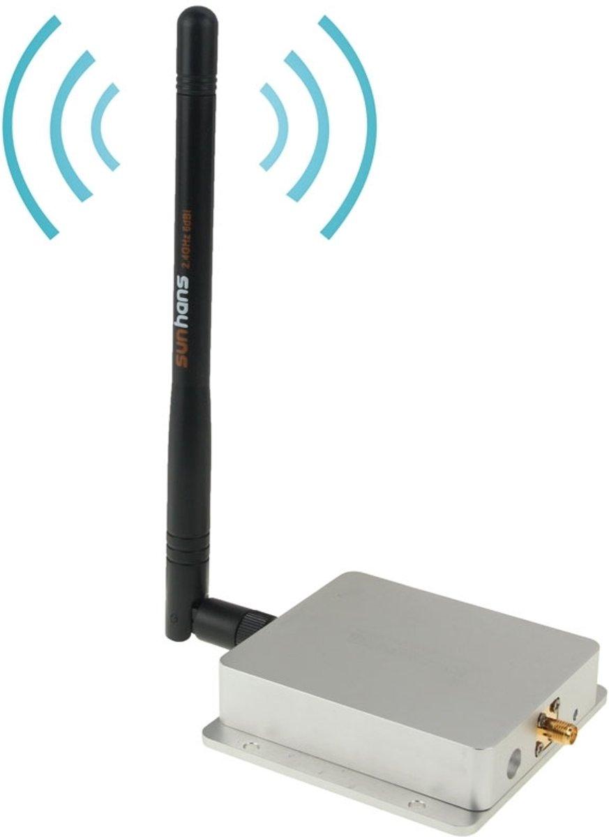 2.4Ghz Indoor WiFi High Power Signal Booster Amplifier 802.11 b/g/n (SH24Gi4000)(zilver) kopen