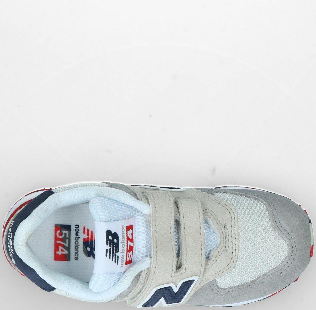 70371e054a1 bol.com   New Balance Meisjes Sneakers Yv574 M - Beige - Maat 28