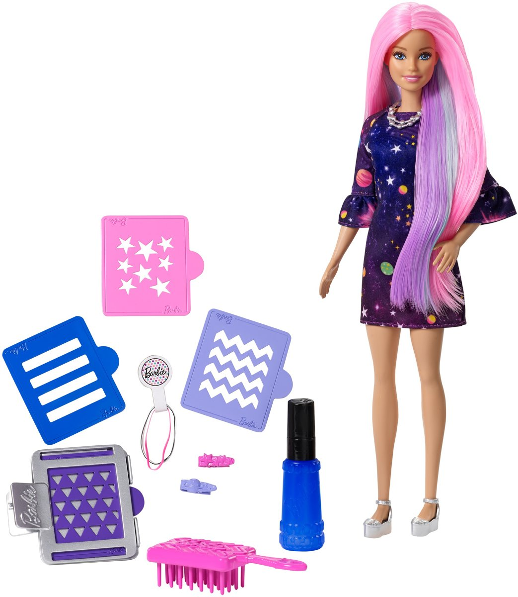 Barbie Color Surprise Haarset Caucasian - Barbiepop