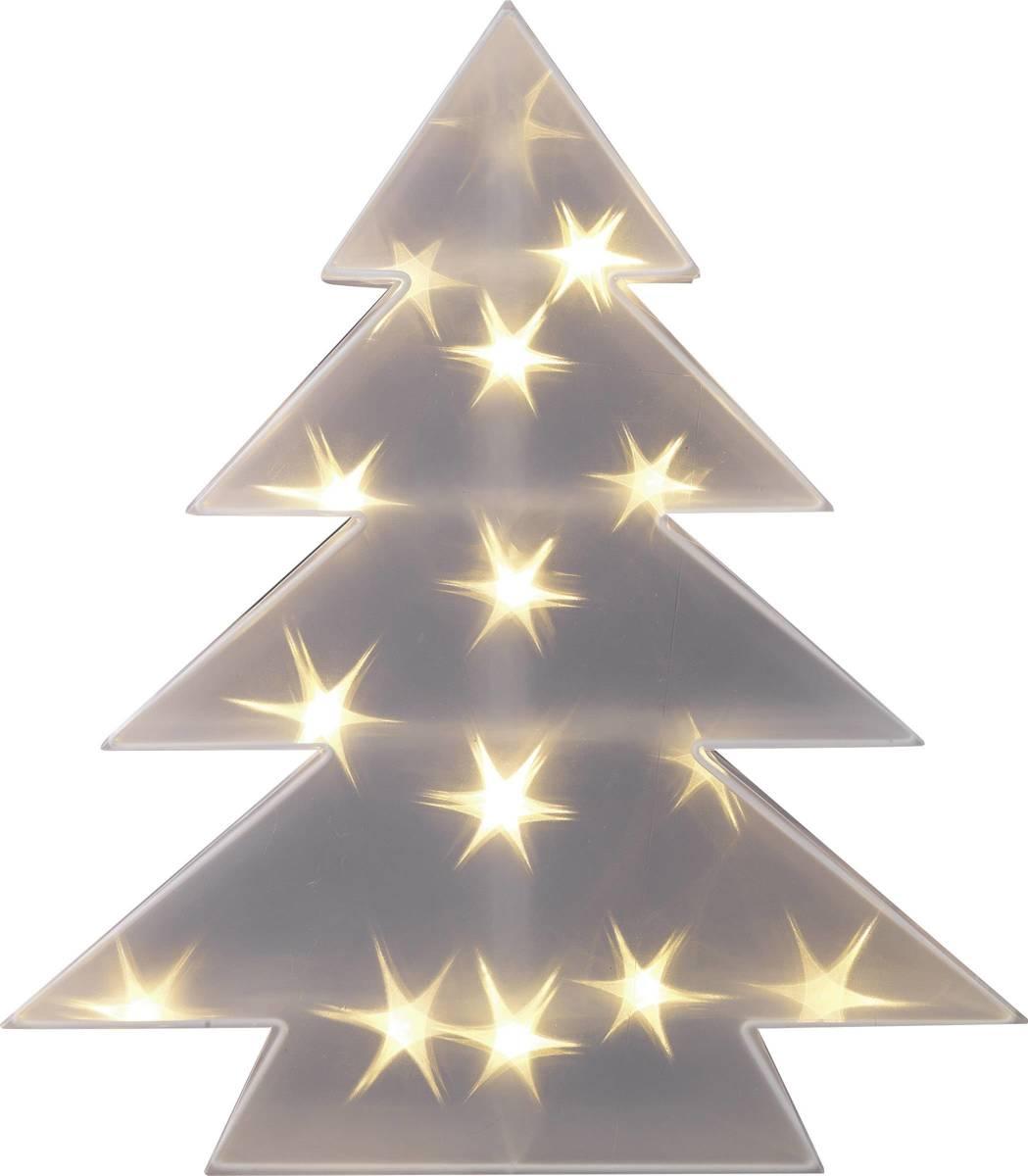 LED-kerstdecoratie Kerstboom Warm-wit LED Transparant Polarlite LDE-04-001 kopen