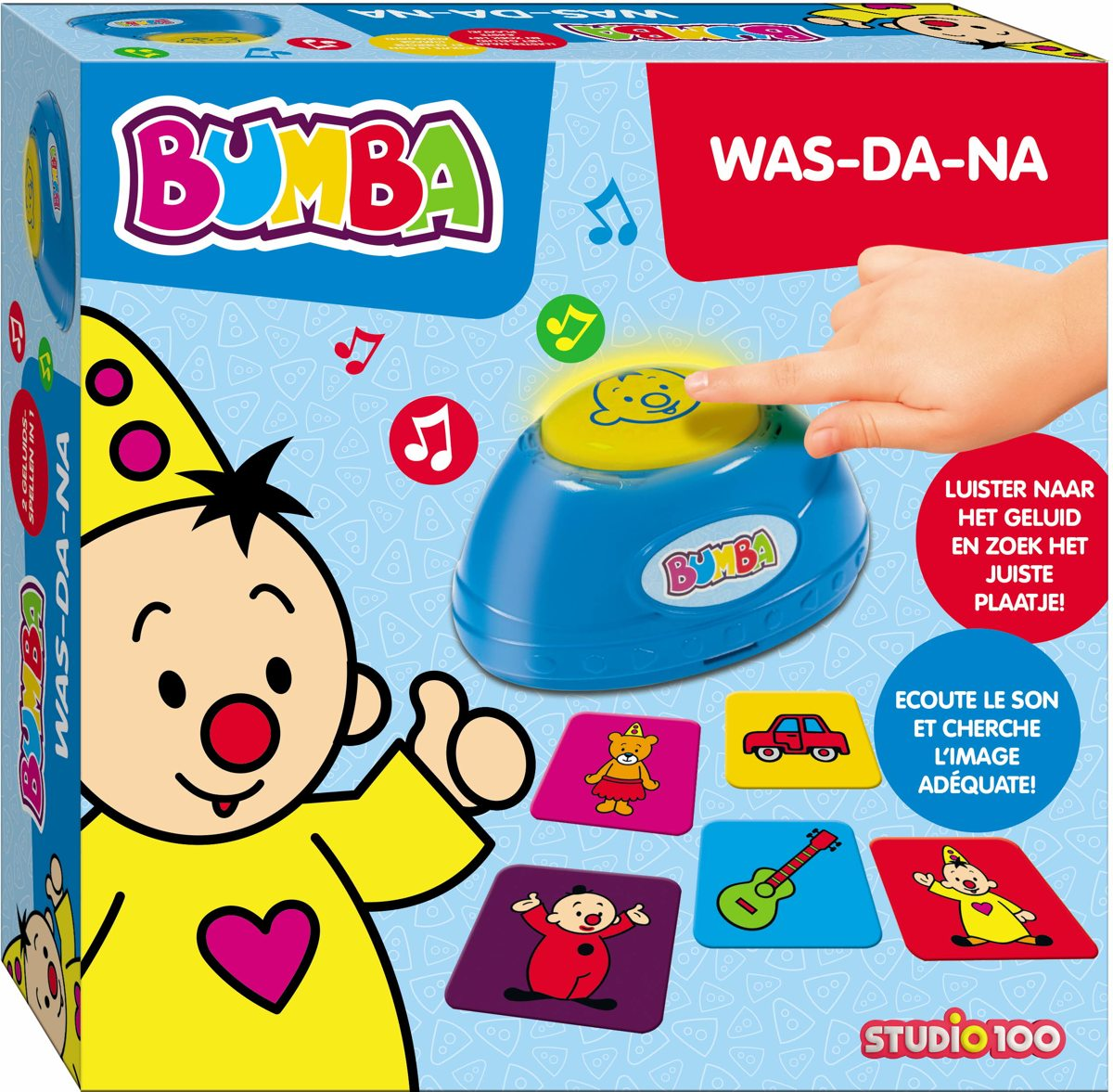 studio 100 bumba geluidenspel was da na kinderspel