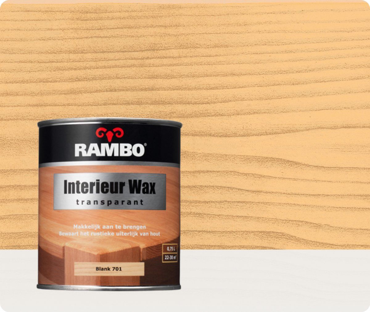 Rambo Interieur Wax Transparant 701 Blank kopen