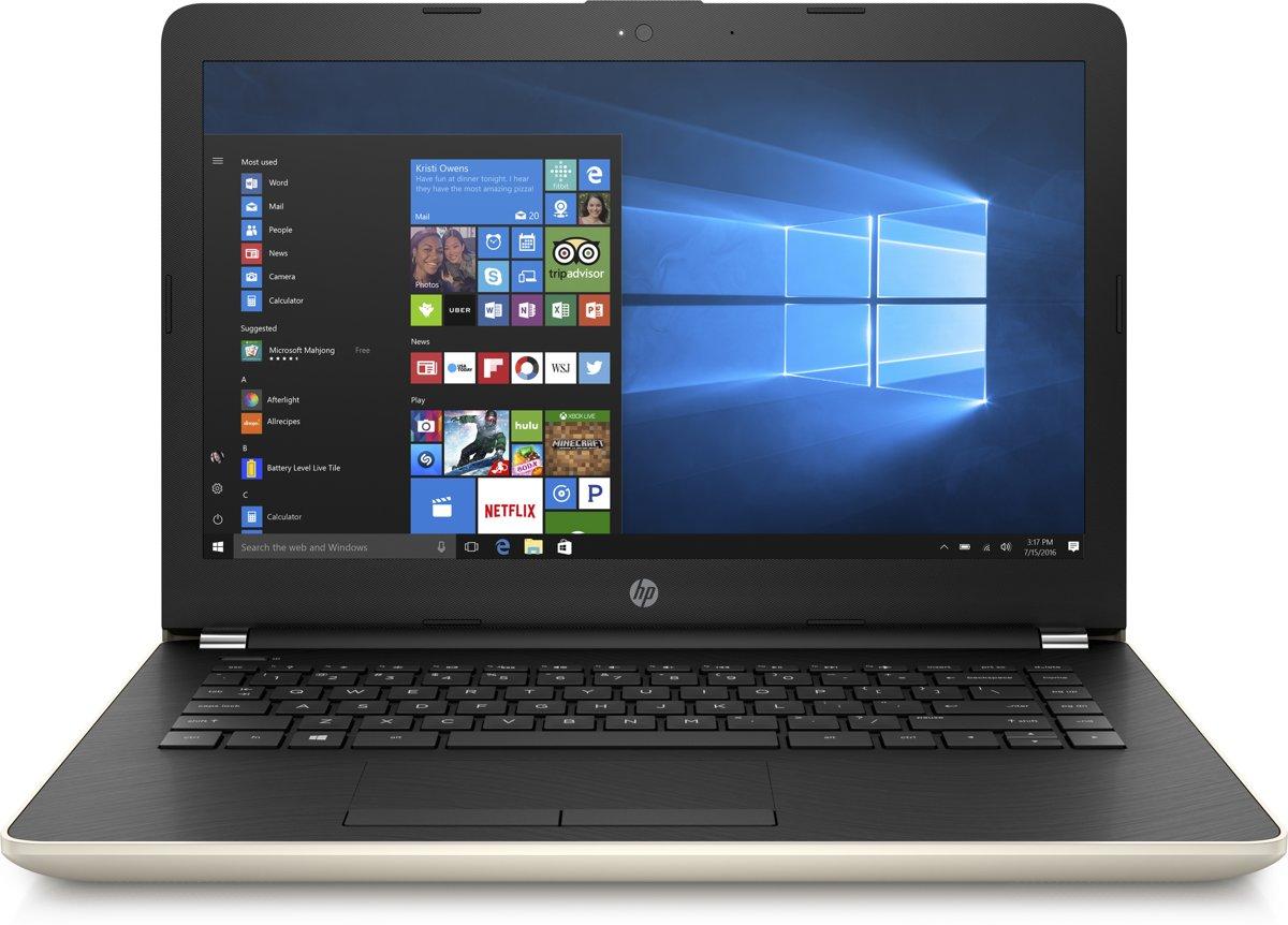 HP 14-bs010nd - Laptop - 14 Inch (35,6-cm) voor €336,38