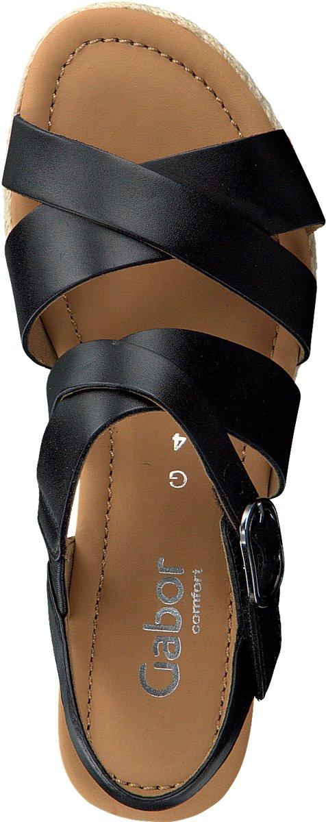 Gabor Dames Sandalen 832 Zwart Maat 35