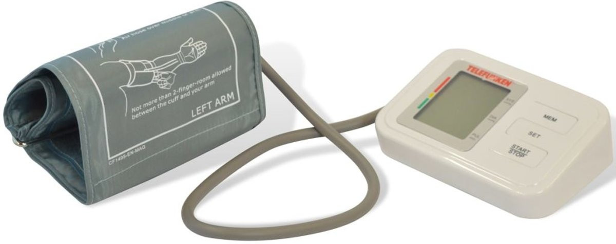 Digitale Bloeddrukmeter Telefunken
