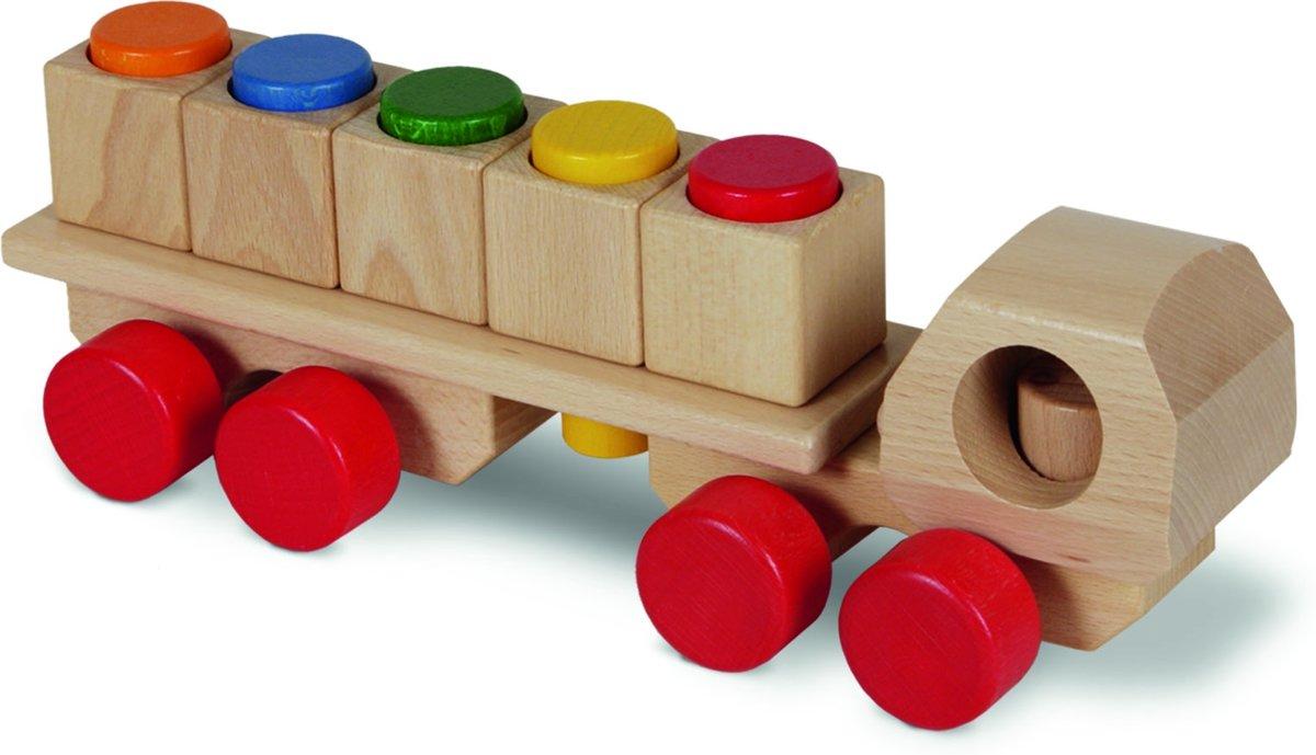 Afbeelding van product nic houten speelgoed Steckmobil, natur