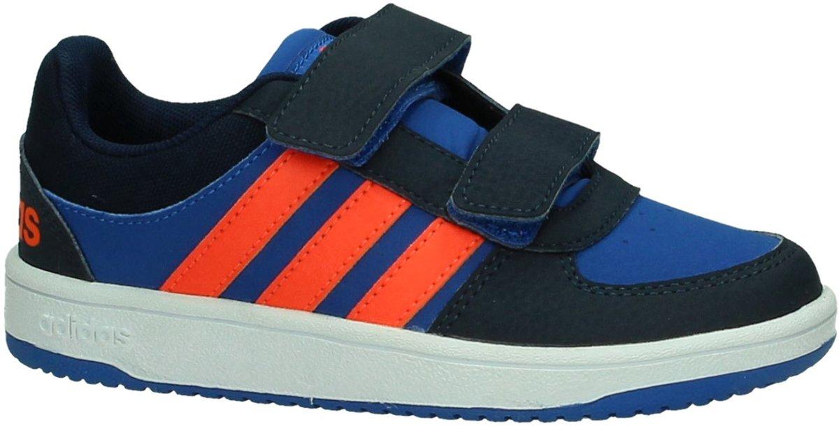 Sneakers 'Adidas Hoops CMF C' met klittenband Kinderkleding