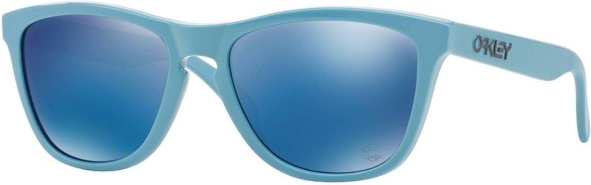 Oakley Frogskins heritage polished blue / ice iridium kopen