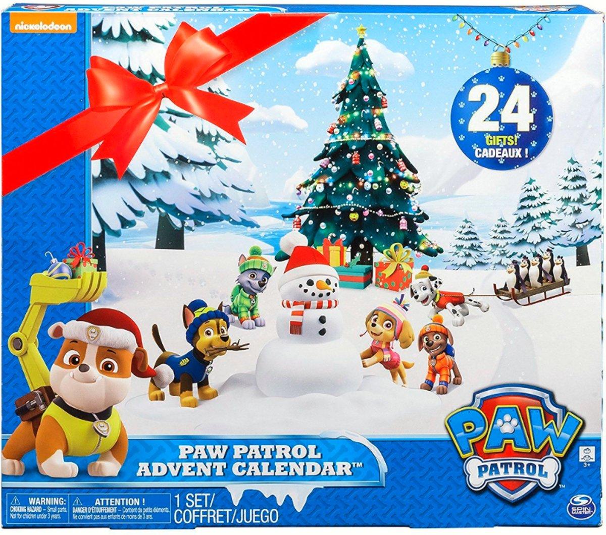 Nickelodeon Paw Patrol Adventskalender met echte poppetjes kopen