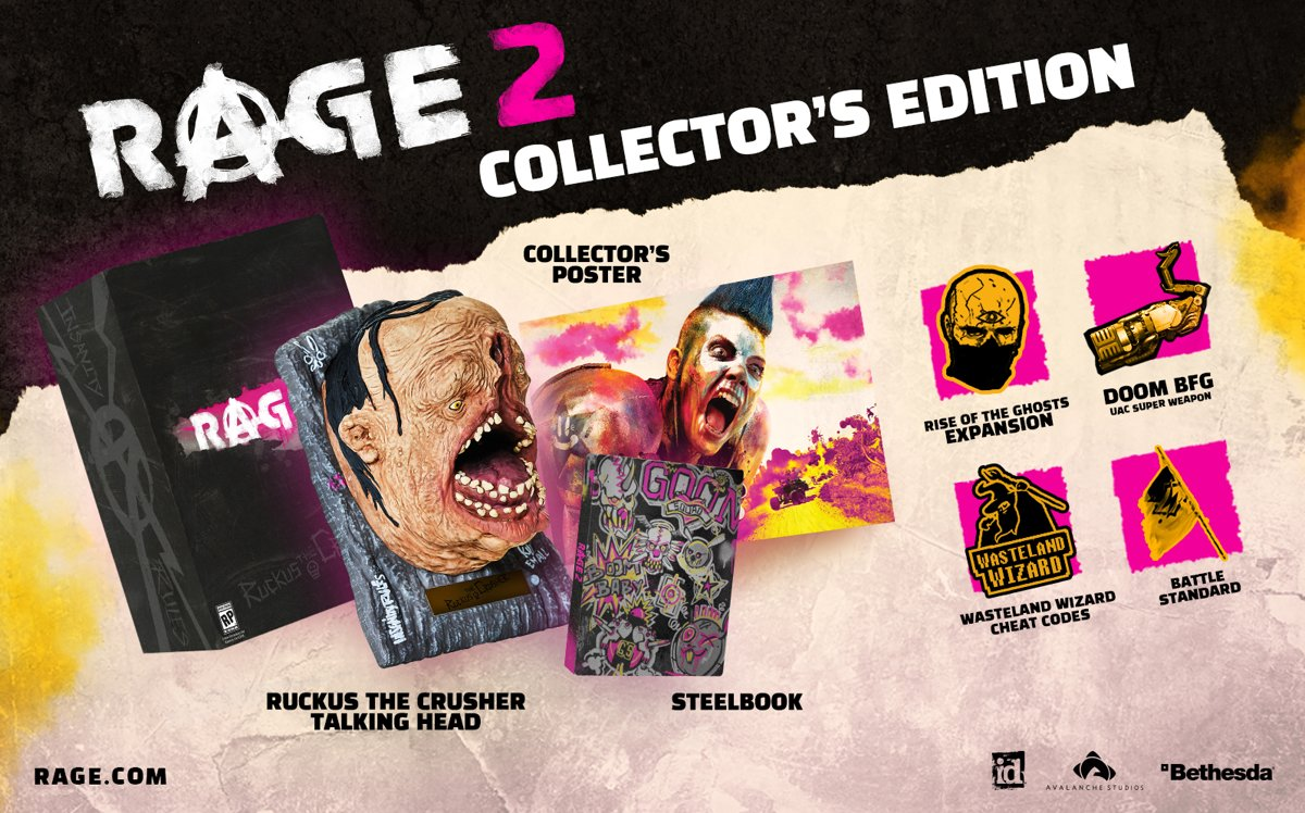 Rage 2 Collectors Edition PlayStation 4
