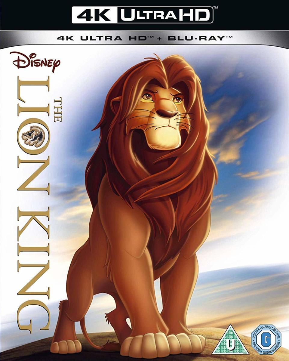 Lion King (4K UHD + blu-ray) (Import zonder NL)-