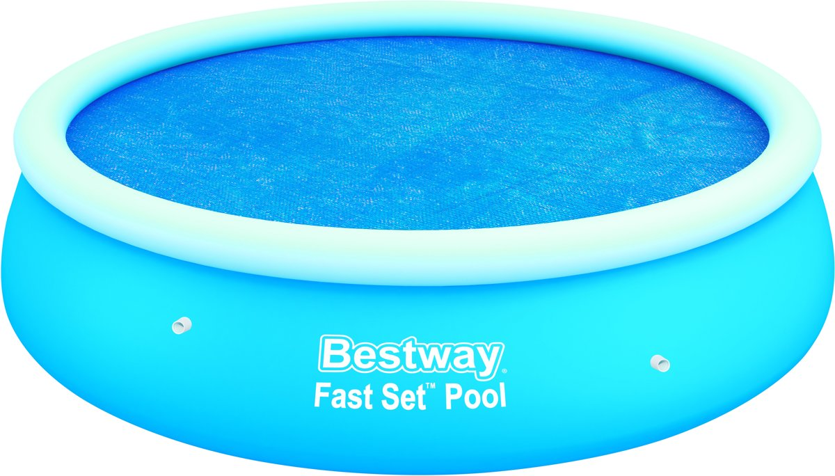 Bestway solar afdekzeil rond voor 244 cm zwembaden