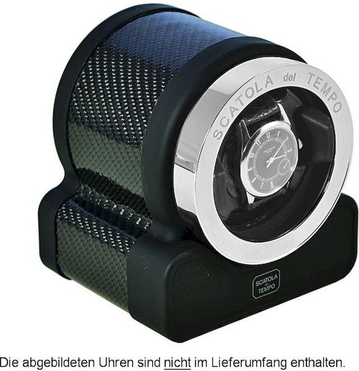 Scatola del Tempo Watchwinder Rotor One HdG Carbon kopen