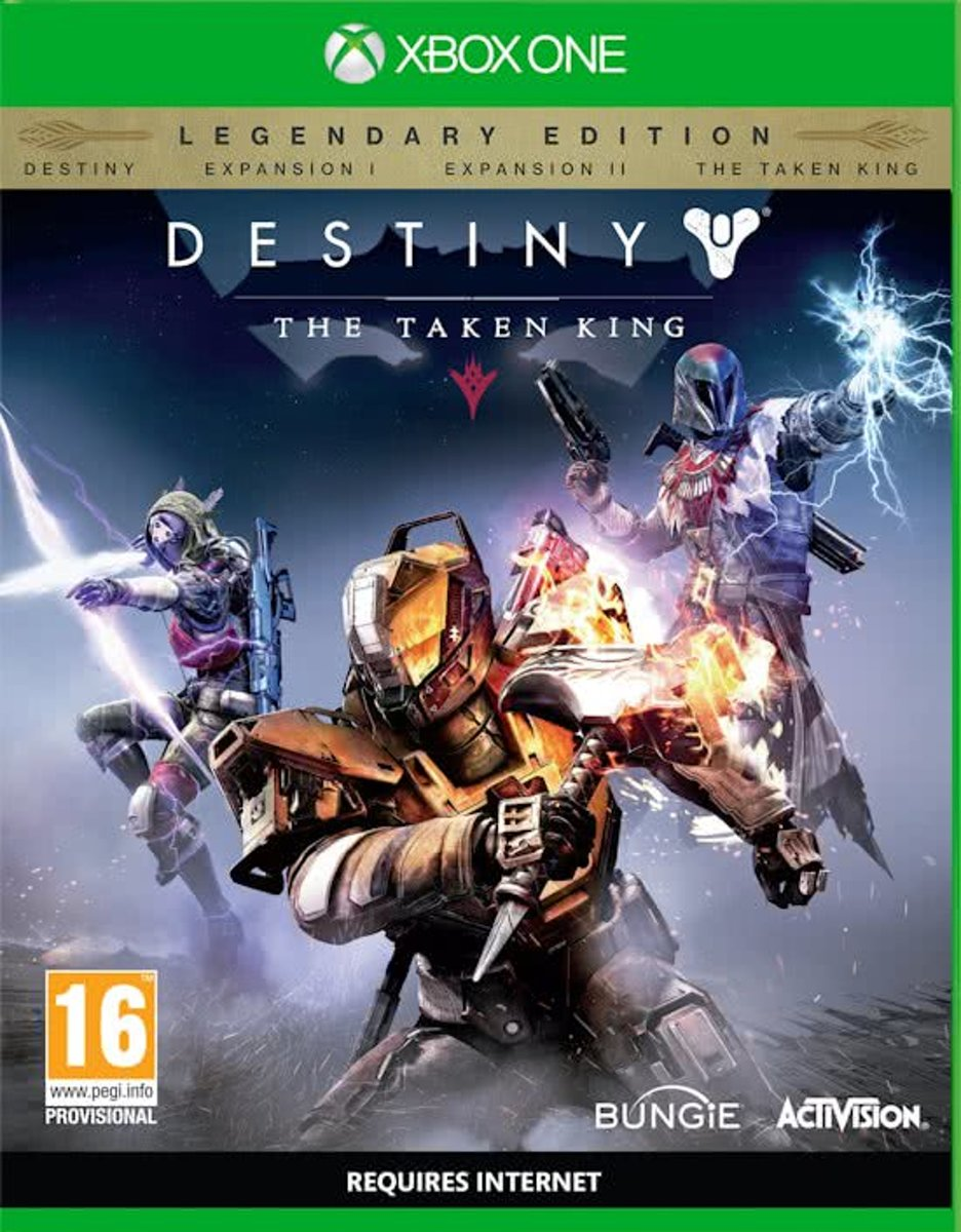 Destiny: The Taken King - Legendary Edition /Xbox One (Fr Cover, Game in het Engels) kopen