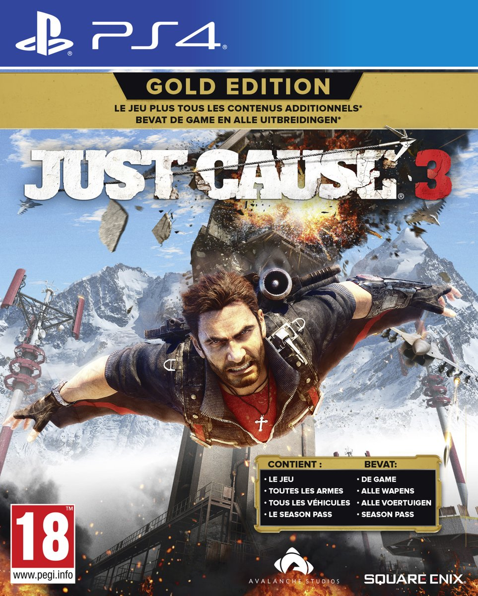 Just Cause 3 - Gold Edition PlayStation 4