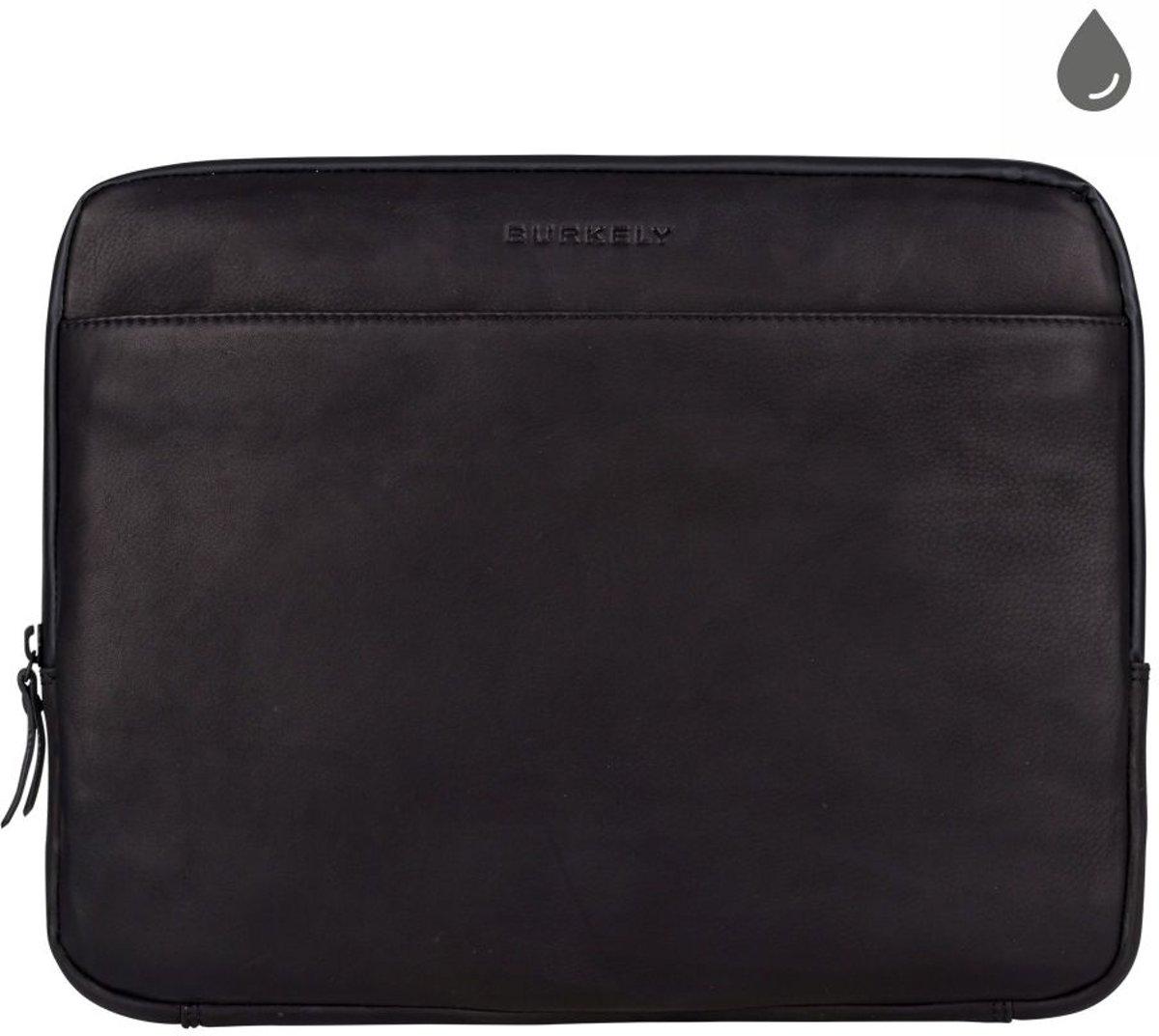 BURKELY Rain Riley Laptopsleeve 13.3 inch Clutch - Zwart kopen