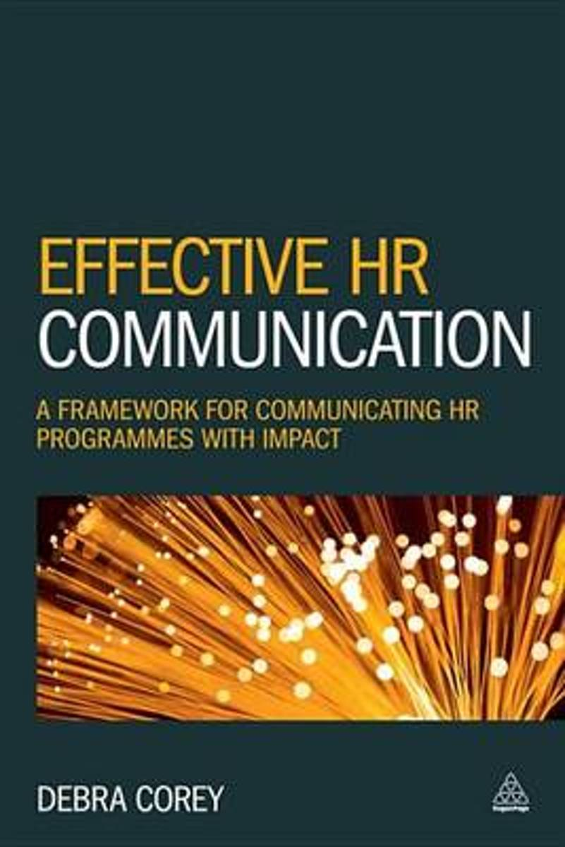 bol.com | Effective HR Communication (ebook), Debra Corey | 9780749476199 |  Boeken