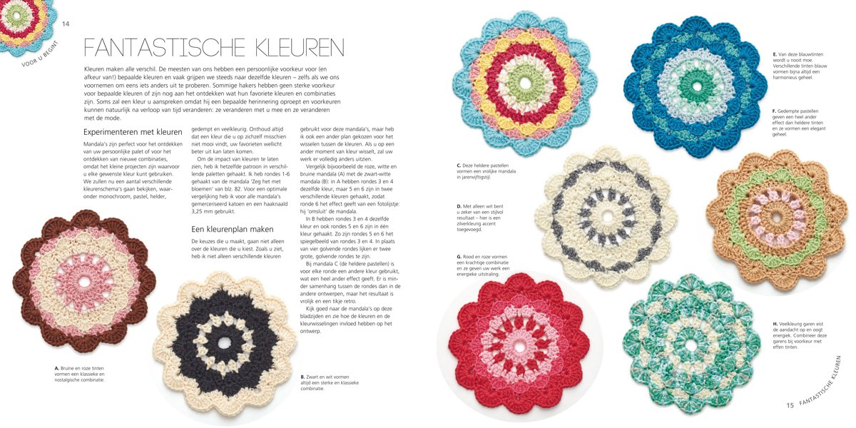Bolcom Mandalas Haken Haafner Linssen 9789089987068 Boeken