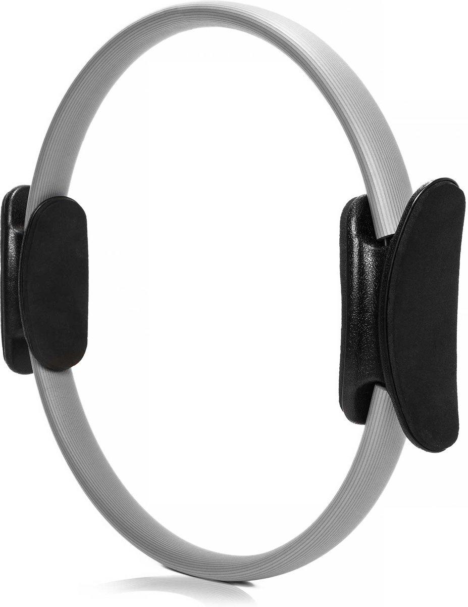 #DoYourFitness - 4x Pilates Ring - »Loop« - voor effectieve pilates-oefeningen - Ø 37,6 cm - grijs (4x) kopen