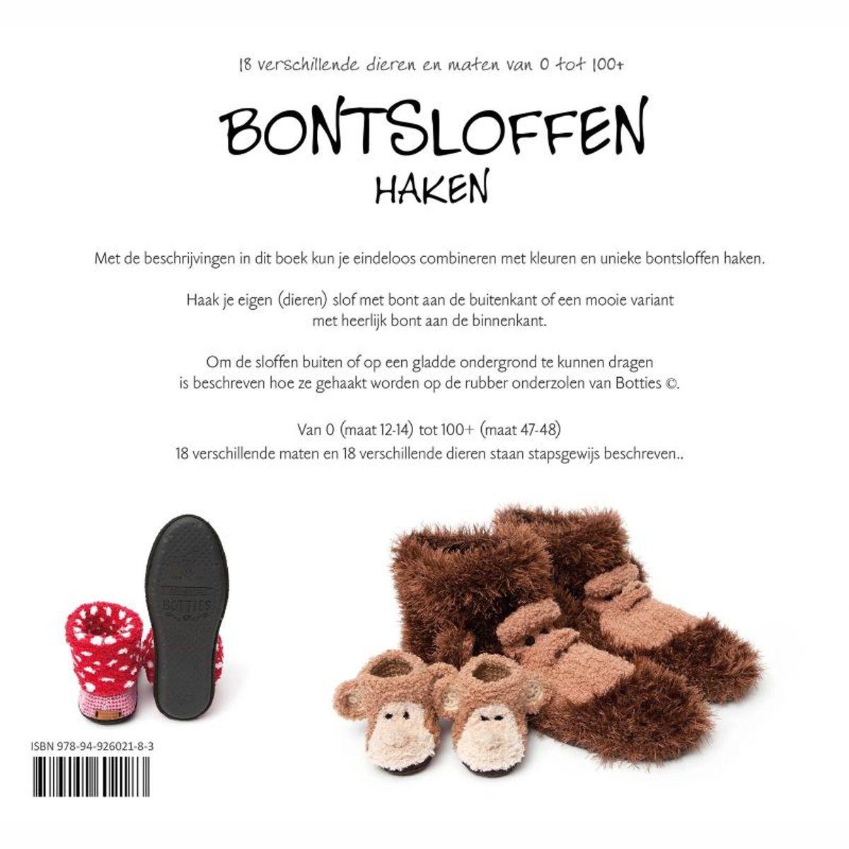 Bolcom Bontsloffen Haken Anja Toonen 9789492602183 Boeken