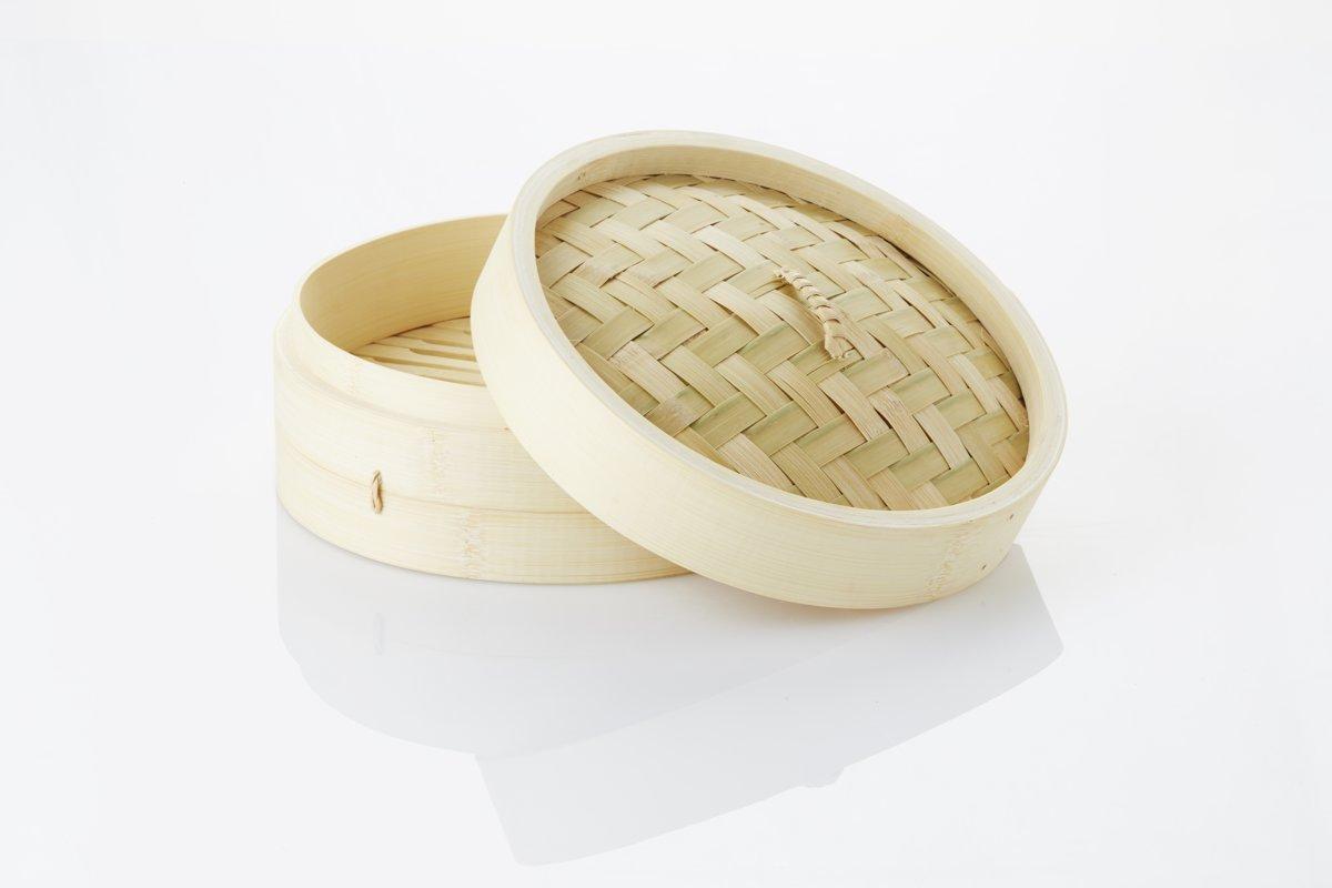 Point-Virgule Asia - Bamboe Stoommandje - 21 cm kopen