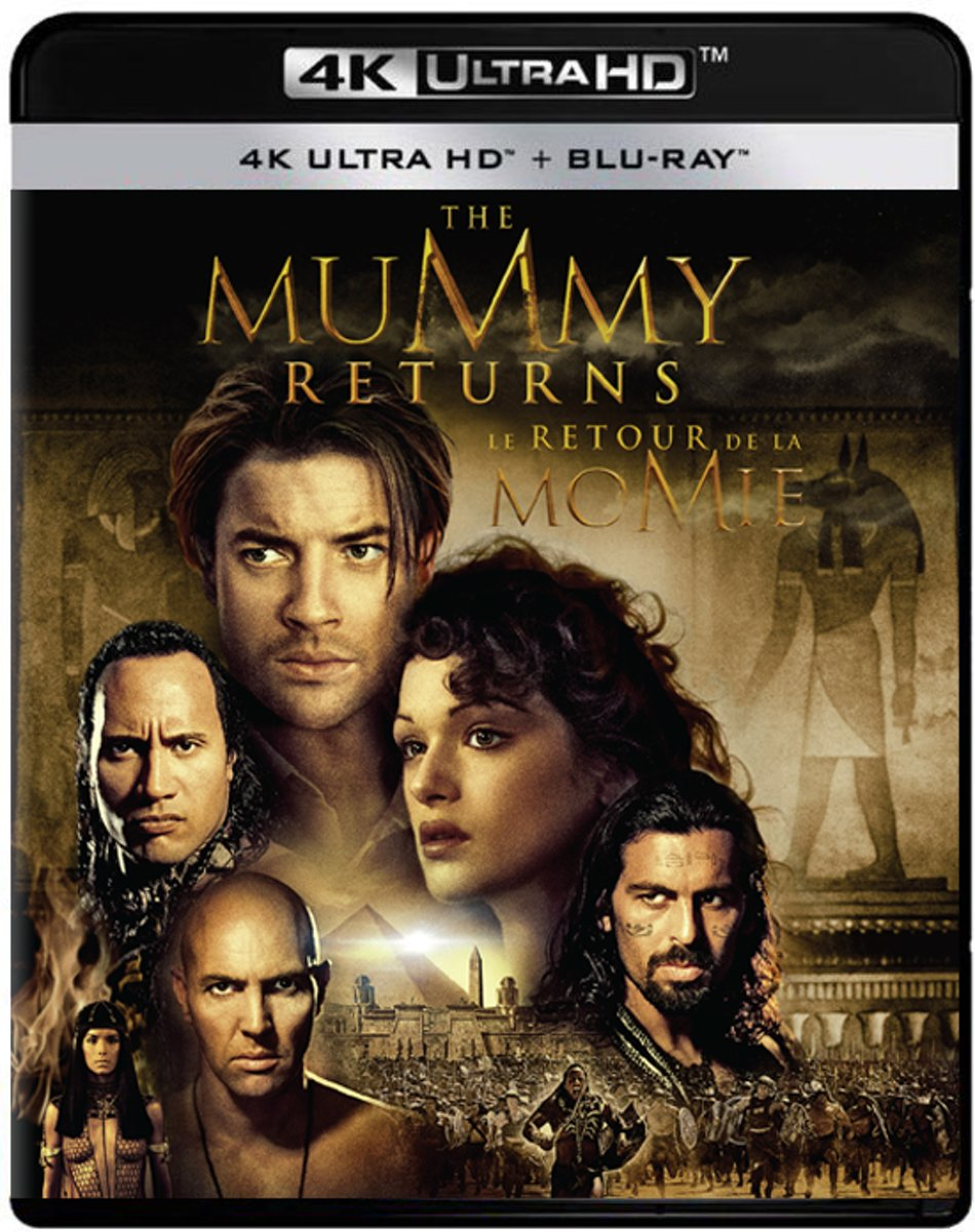 The Mummy Returns (2001) (4K Ultra HD Blu-ray)-