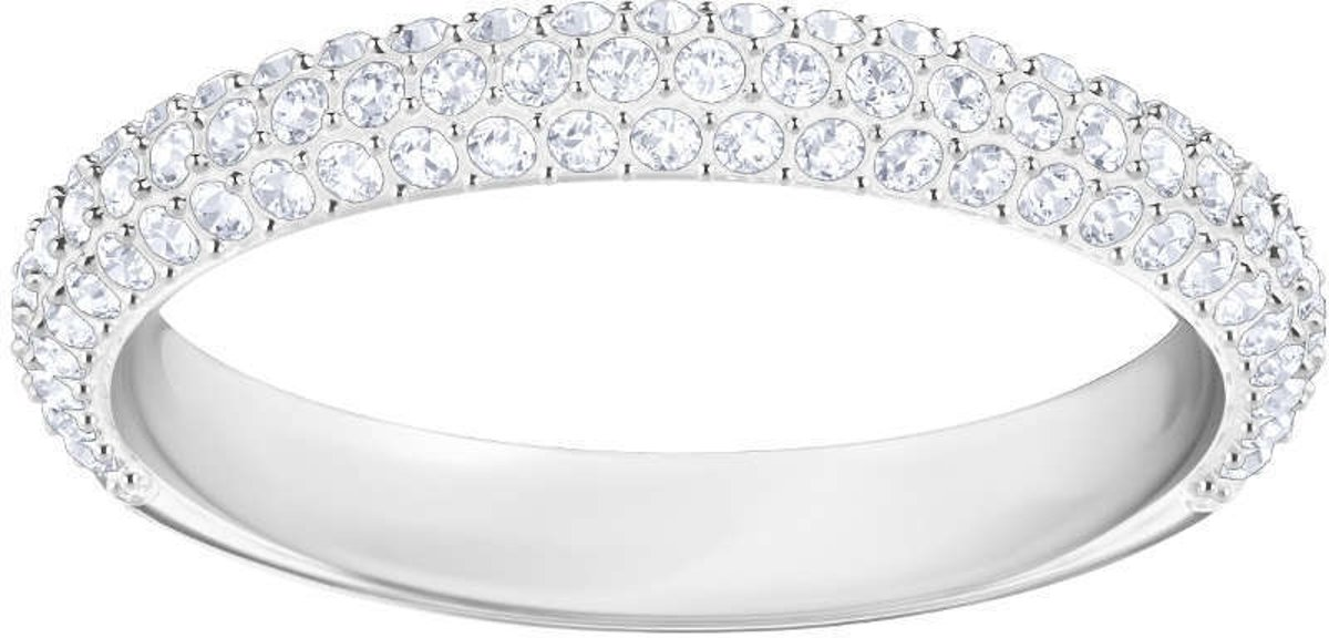 Swarovski Stone Crystal Ring  (Maat: 52) - Zilver kopen