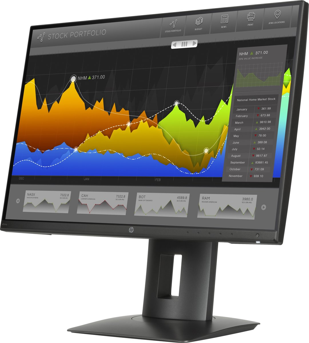 HP Z24nq 23,8-inch (60,45-cm) Narrow Bezel IPS-monitor (ENERGY STAR)