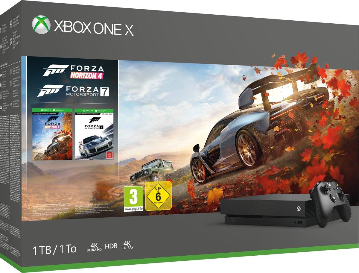 Xbox One X console Forza Horizon 4 bundel - 1TB Xbox One