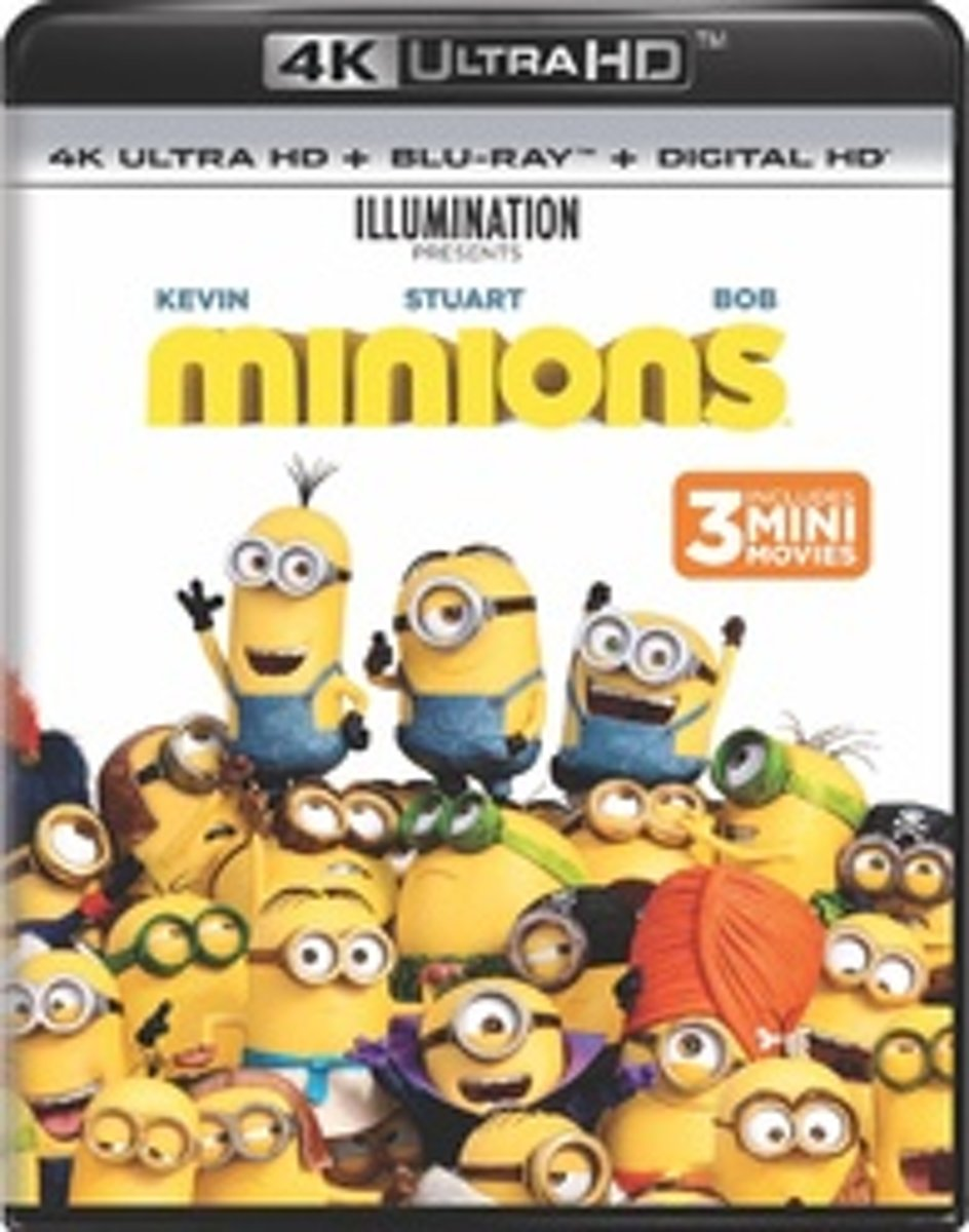 Minions (4K Ultra HD Blu-ray)-