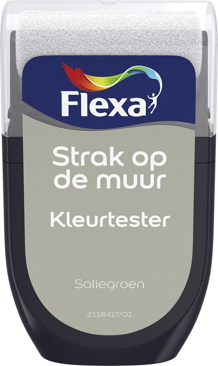 Flexa Strak op de Muur Tester - Watergedragen - Mat - saliegroen - 0,3 liter kopen