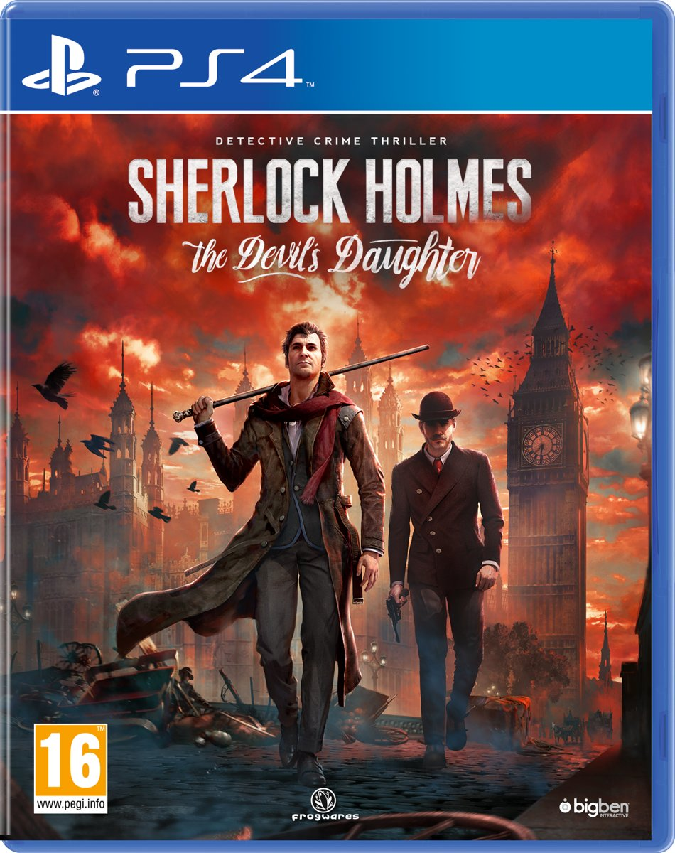 Sherlock Holmes: The Devil's Daughter PlayStation 4