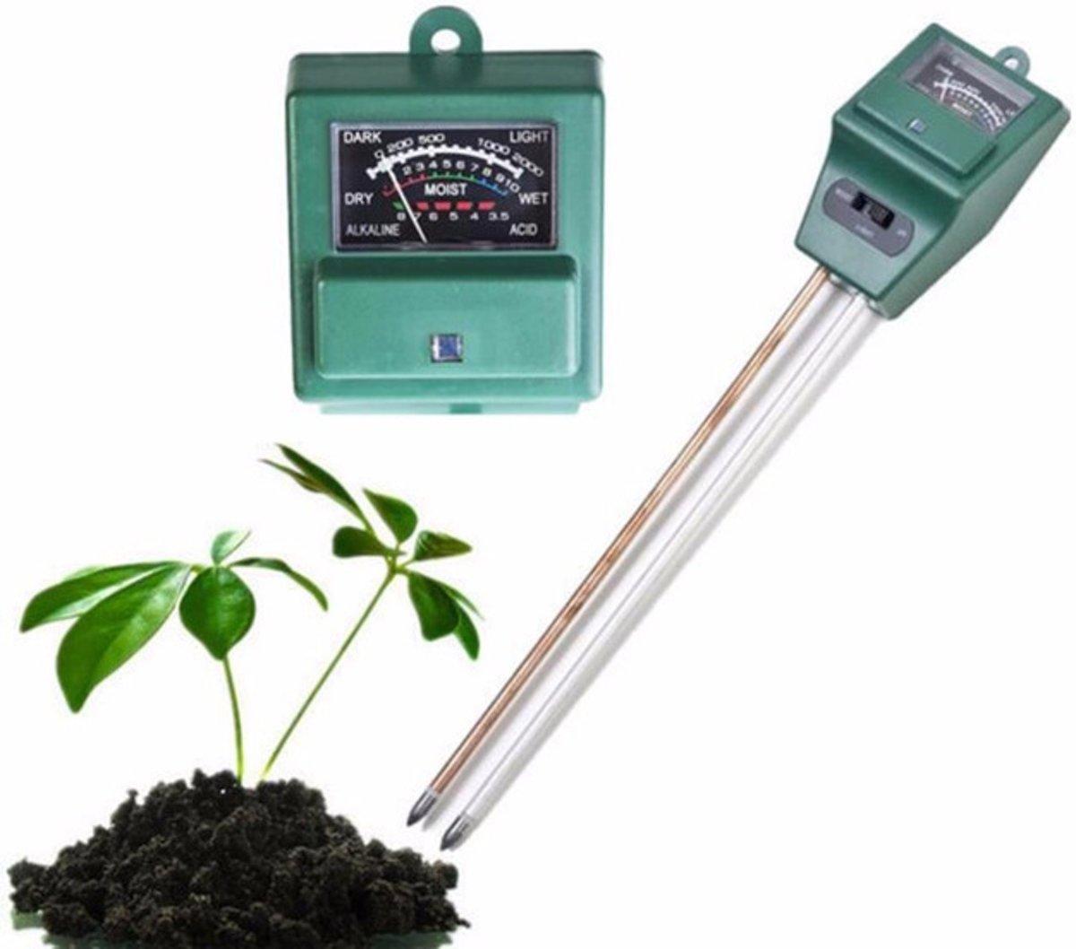 PH meter Buitenthermometer 3 IN 1 grond meter voor planten en tuin kopen